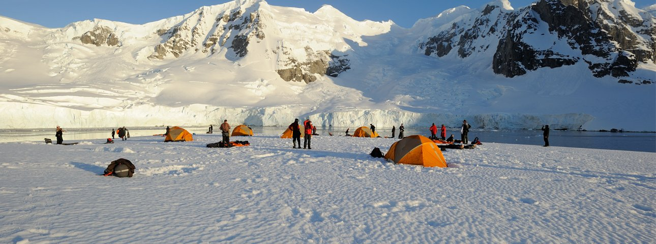 Camping on Antarctica Credit © Jörg Ehrlich, Oceanwide Expeditions