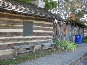 James White's Fort - first settlement in Knoxville. He arrived 1783.