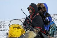 Following the Reindeer Migration and Snowmobiling on the Mackenzie River
