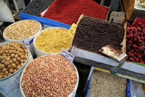Spices & nuts, Streets of Tehran