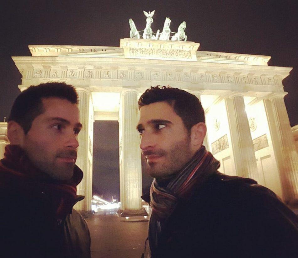 Romantic Berlin at the Brandenburg Gate