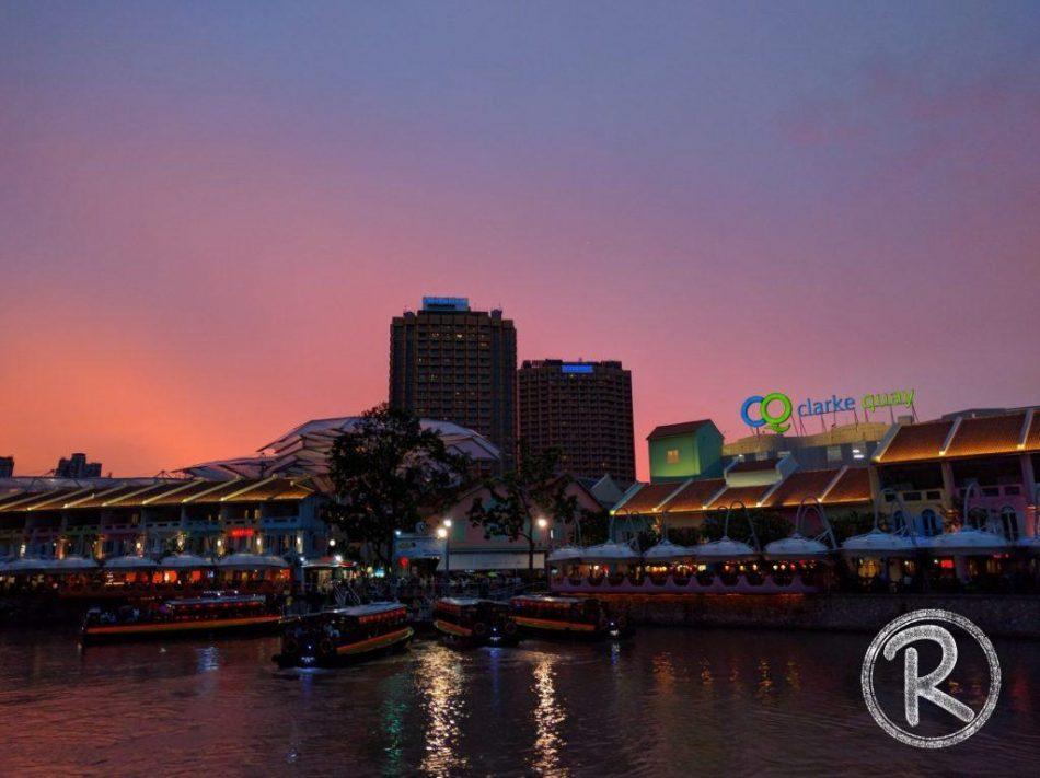 Singapore River Cruise - Clarke Quay (Day 3)
