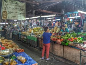 Vendors at Somphet Market, Chiang Mai, Thailand