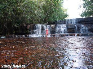Waterfall in Jasper Canyon - Gran Sabana, Venezuela,