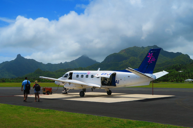 [AITUTAKI]-Taking-off-from-Rarotonga
