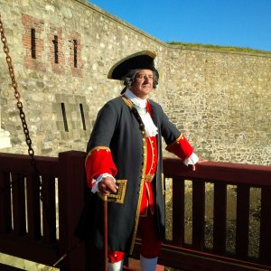 Cape Breton - Louisbourg Fortress - Sentry at the Dauphin Gate 2