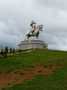 40-meter monument to Chinggis (Genghis) Khan