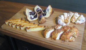 pastries at G Cafe