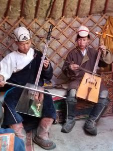 Mongolia's famed horse hair fiddle