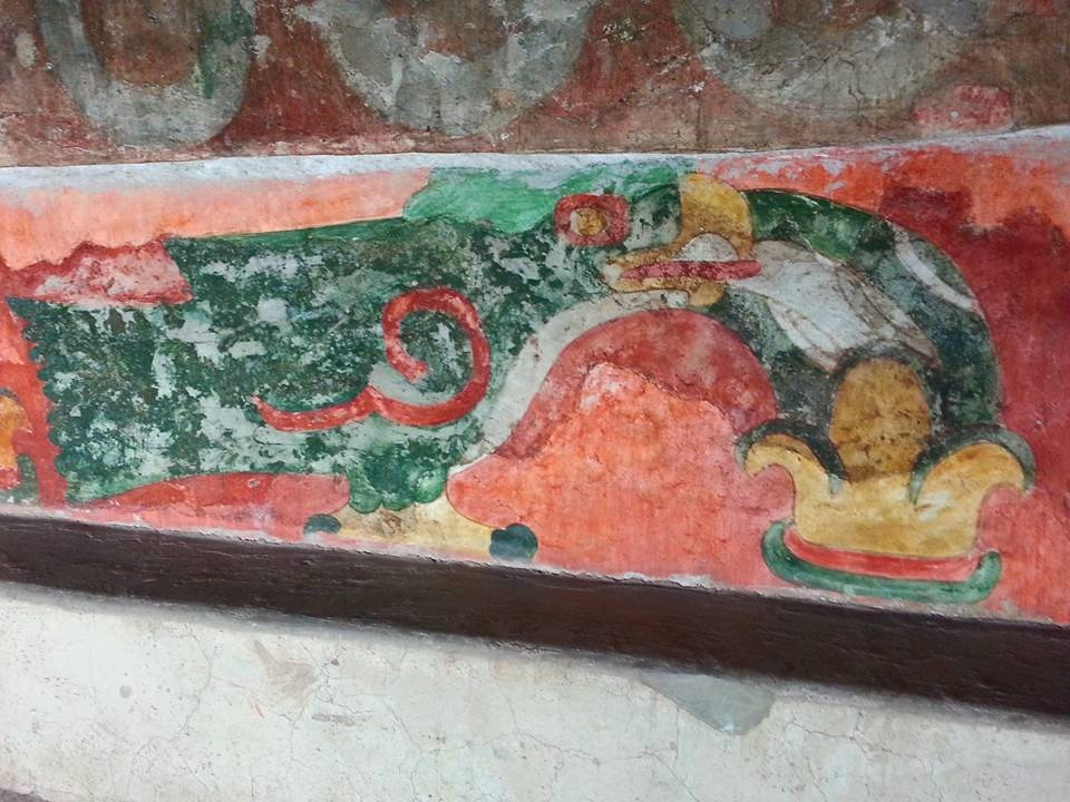 Teotihuacan where the gods were created dave 39 s travel for Mural quetzalcoatl