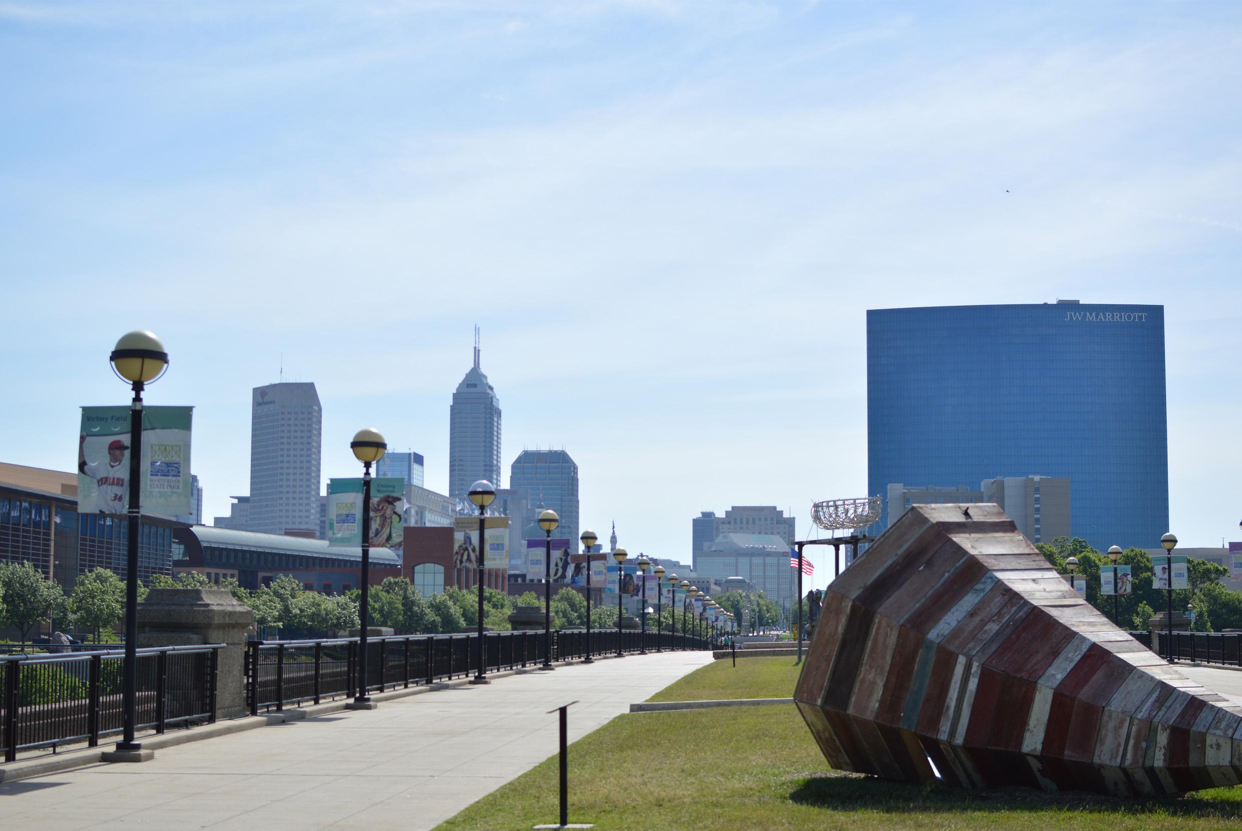 Indianapolis City Scape