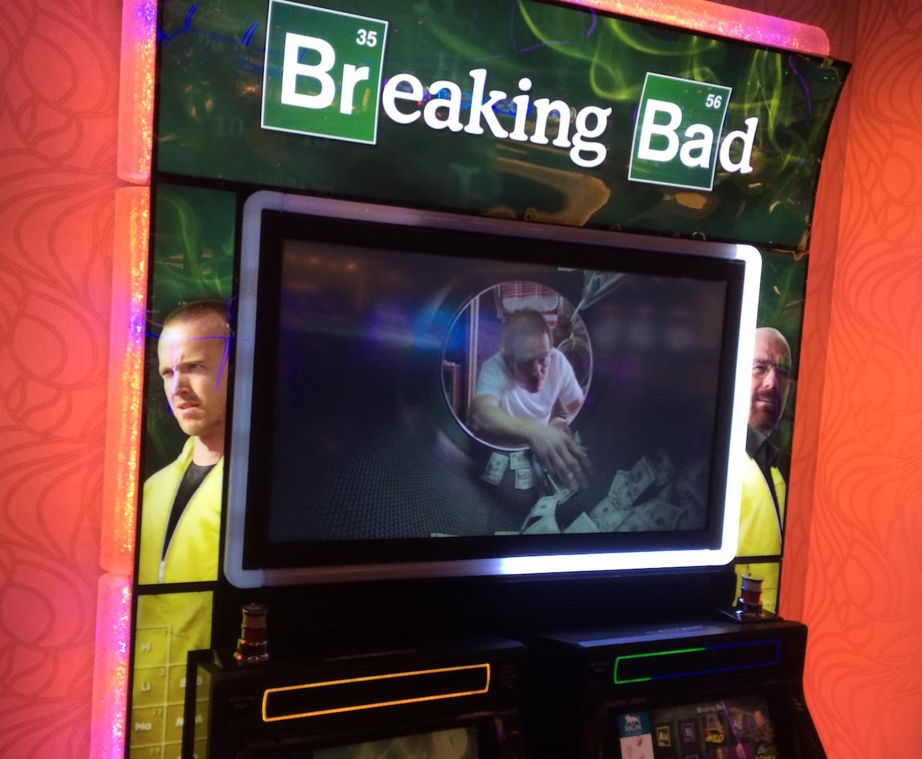 I'd just as soon break even than break bad