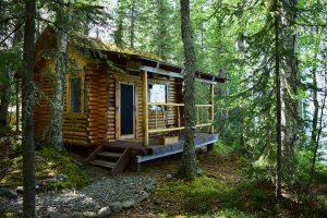 A Kenai Backcountry cabin.