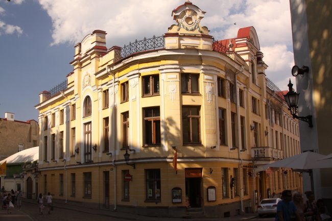 One of impressive buildings in the old town