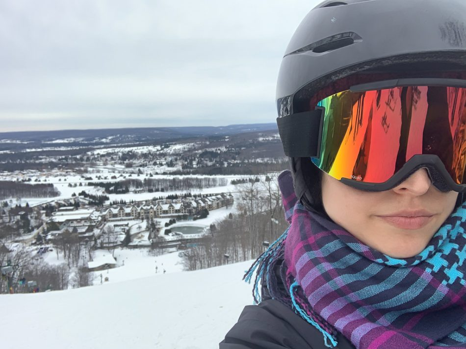 Skiing at Boyne Mountain