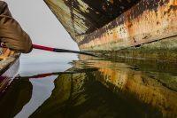 Kayaking among the Ghost Ships of Mallows Bay