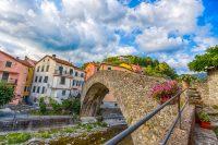 Varese Ligure, Italy – April 2020