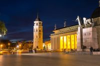 Old Town Vilnius Lithuania – November 2019