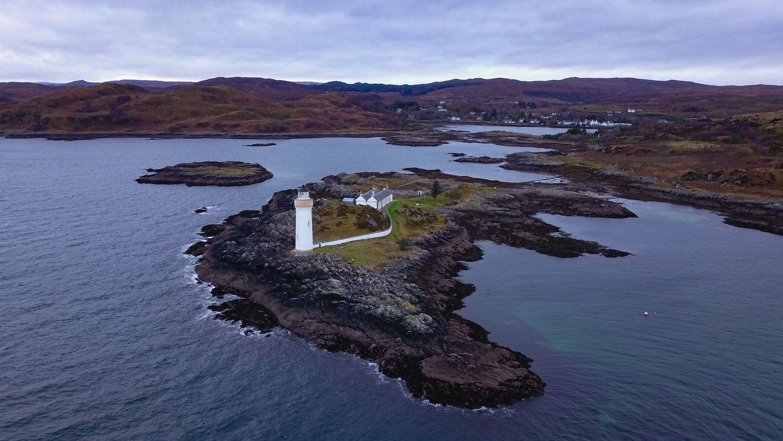 Eillean Sionnach Lighthouse Cottage